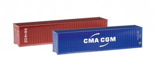 Herpa 076449-004  Container-Set 2x40 ft.