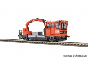 Viessmann 2621 ROBEL Track motor car 54.22 ÖBB version with movable crane, functional model for 2 ra