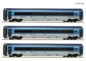 Roco 74139 - 3-tlg. Set: Railjet, CD H0