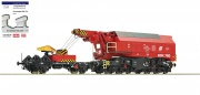 Roco 73036 - Slewing railway crane for digital operation, ÖBB