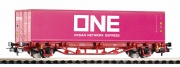 Piko 57757 Containerwagen NS VI 1x40' Container H0