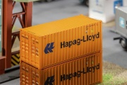 Faller  180826  20' Container Hapag-Lloyd H0