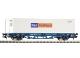 Piko 58740 Containertragwagen 1x40' Container Nedlloyd H0