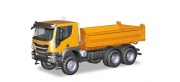 Herpa 309998  Iveco Trakker 6x6 Baukipper-LKW, orange 1:87