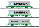 Märklin 47726 Containertragwagen-Set Lgns