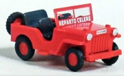 Black Star BS00101 Willis Jeep Polizei Policia 1:87
